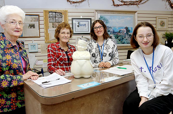 Pictured at Selective Seconds in Belmar were Eleanor McMahon, Tinton Falls; Kathy Alexander, Neptune City; Rachael Ray, Belmar and Fiona Brown, Wall Township.