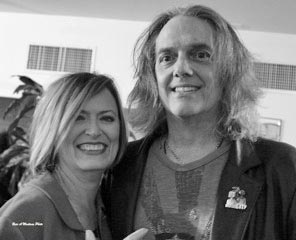 A benefit for area musician George Meyer, who is pictured with his wife Pamela Moore, is scheduled for Sun., March 8 in Asbury Park.