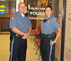 Coaster Photo - Michael and Melinda Casey are a husband and wife team working as police officers in Asbury Park.