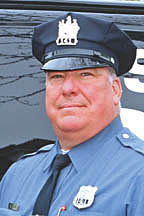 Coaster Photo - Police Office Eugene Dello will receive the Asbury Park Chamber of Commerce Carousel Award for public service.