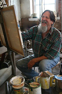 Little Bobby Duncan, the resident artist at the Jersey Shore Arts Center, will be one of dozens of artists displaying work at the July 7 exhibit.