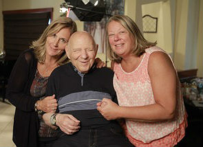 Pianist Al Rando is pictured at Brennen's Steakhouse in Neptune City with restaurant owner Maura Fitzsimmons (right) and his neice Laurie Kenny-Ambio.
