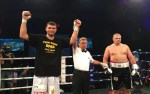 Arnold 'The Cobra' Gjergjaj won by TKO in round 1 vs Marino Goles