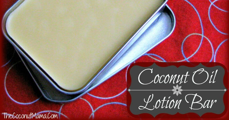 Lotion Bar Recipe with Healing Coconut Oil