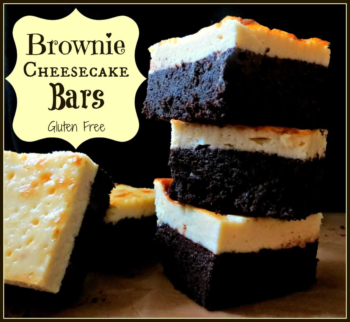 Brownie Cheesecake Bars (Grain Free)