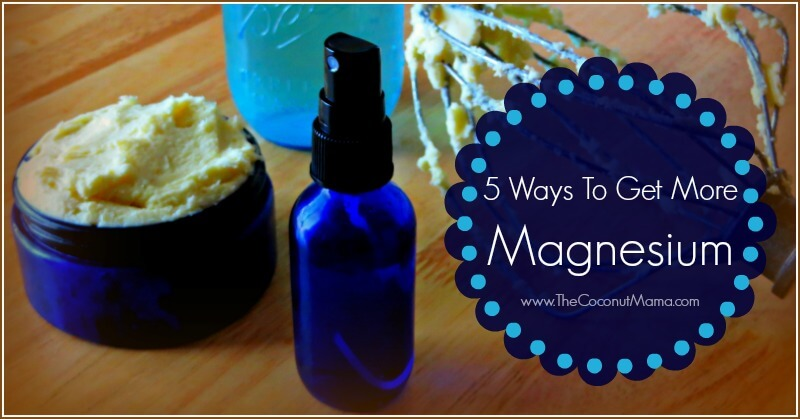5 Ways To Get More Magnesium