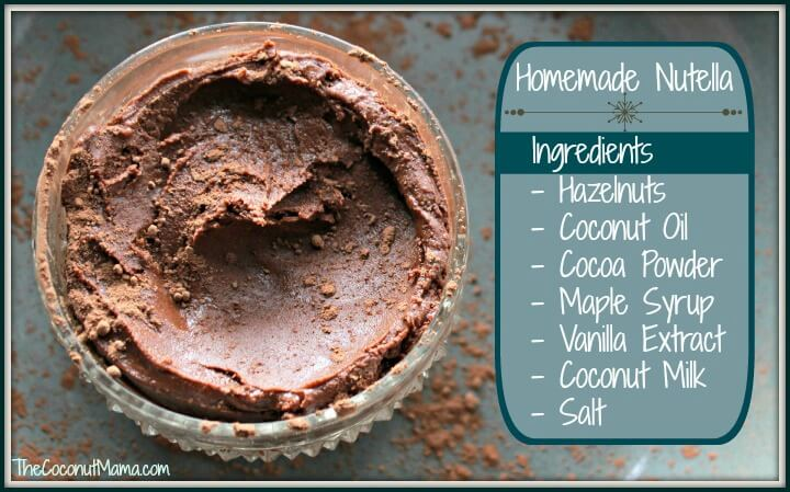 "Homemade ""Nutella"""