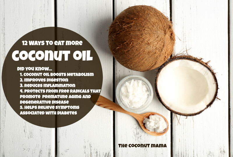 12 Ways To Eat More Coconut Oil