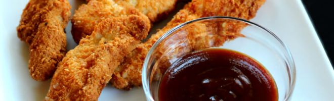 Coconut Crusted Chicken Tenders