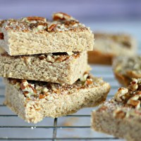 Cinnamon Pecan Bars (Grain Free)
