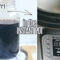 Instant Pot Elderberry Syrup (Easy 30-Minute Recipe)