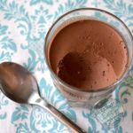 Dairy Free Dark Chocolate Coconut Pudding from The Coconut Mama