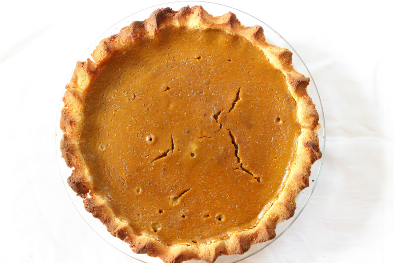 Healthy Gluten Free Pumpkin Pie