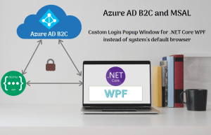 Read more about the article Azure AD B2C and Custom Web UI for .NET Core WPF App