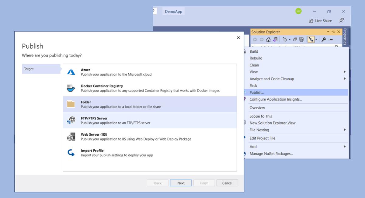 Publish ASP .NET Core Web Application to IIS - 1