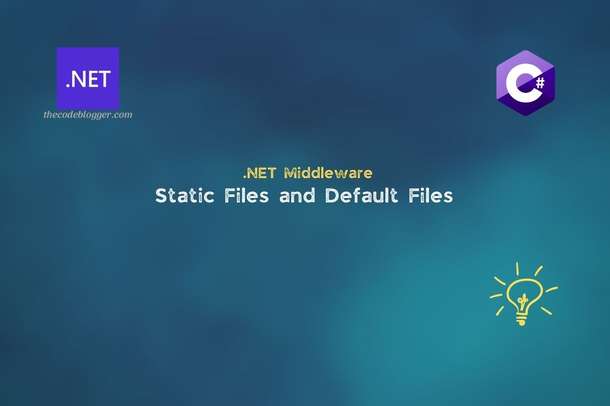 Read more about the article Static Files vs Default Files in ASP .NET Core Web Applications
