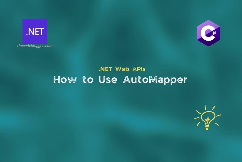 .NET Core Web API and AutoMapper