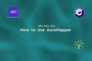 Configure AutoMapper For ASP .NET Core API App