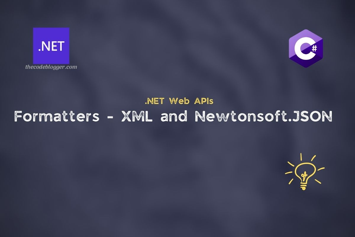 Read more about the article XML and NewtonsoftJSON formatters for .NET Core Web APIs
