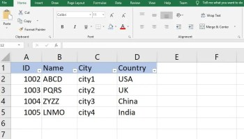 Read/Write Excel file in  NET Core   TheCodeBuzz