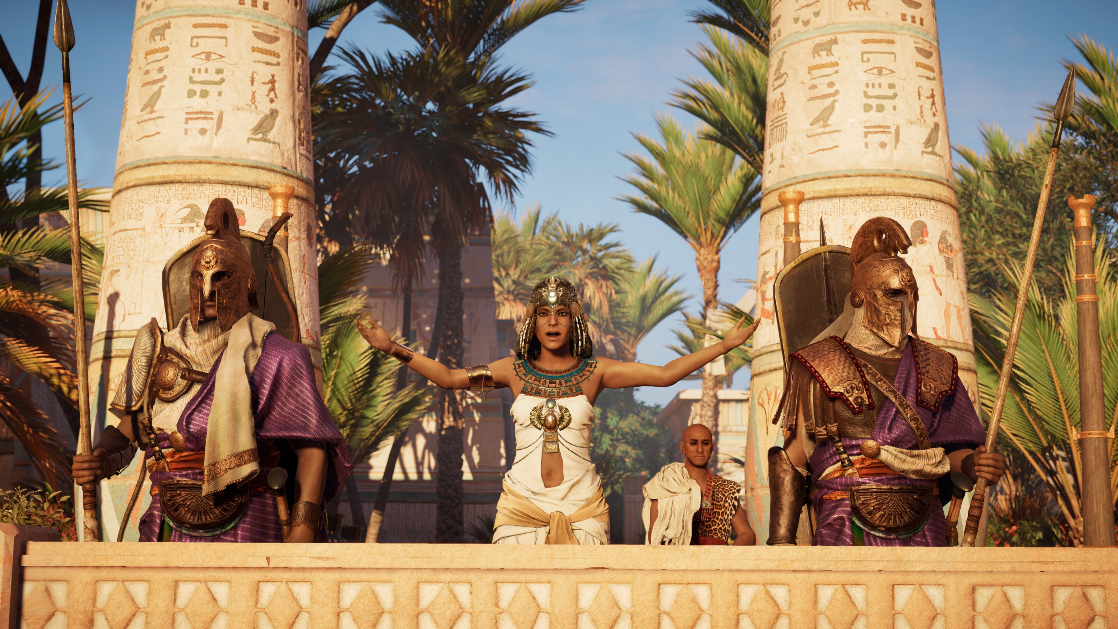 Image result for assassin's creed origins cleopatra discovery tour