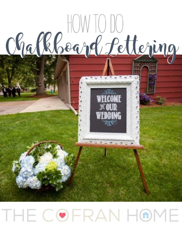 how to do chalkboard lettering