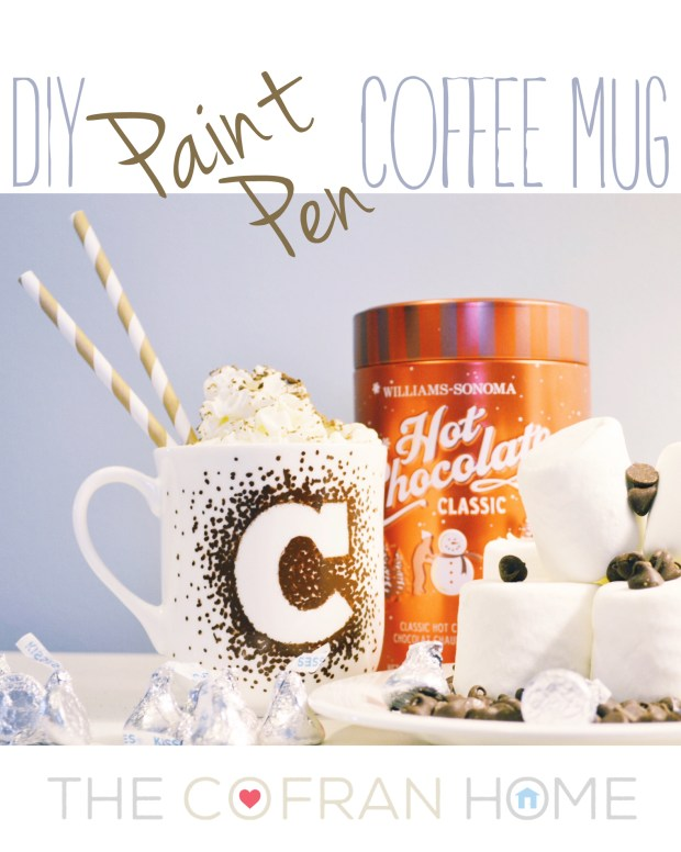 DIY Paint Pen Coffee Mug
