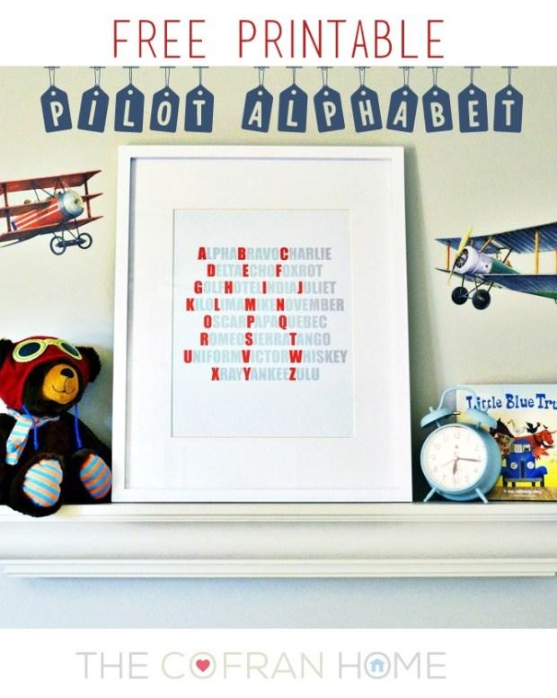 Pilot Alphabet1