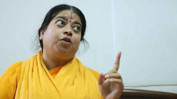 Sadhvi Kamal. Pic: Himanshu Vyas / Hindustan Times