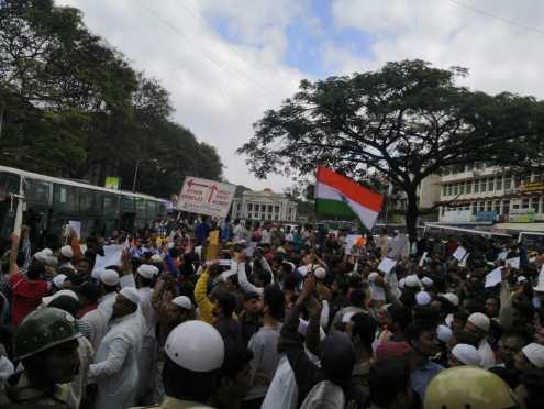 Protest Bangalore CAB