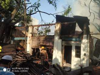 Bamboo Bazaar Fire
