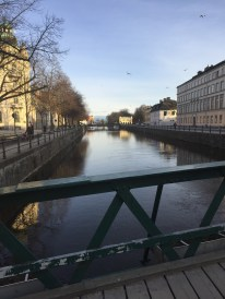 Uppsala, Sweden and its adorable canal