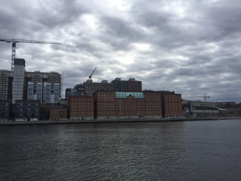 This factory used to produce the national seal of Sweden, now its an apartment building (that I kinda want to live in)