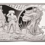 50TH ANNIVERSARY APOLLO 11 COIN BAR - 2 oz Silver Bar and ...