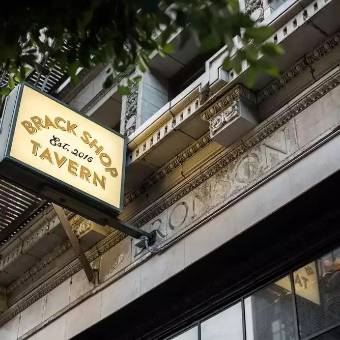 Restaurants Available in the Building - Brackshop Tavern Exterior -The Collection