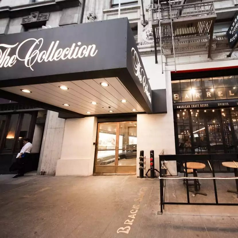The Exterior of the Collection Coworking Shared Office Space and Private Offices - The Collection