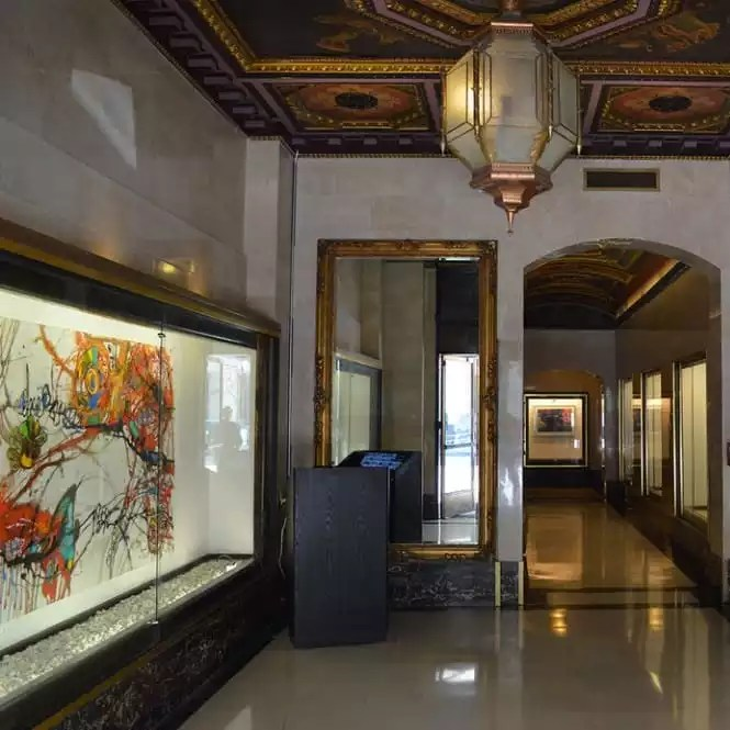 The Downtown Los Angeles Executive Office Space Lobby - The Collection