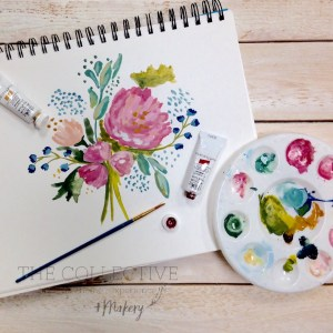 Into to painting with Gouache