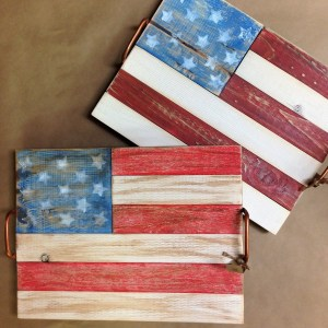 Flag tray class at The Collective lhe + Makery