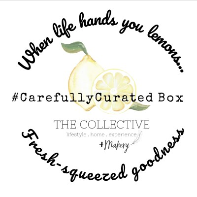 #CarefullyCurated July box from The Collective lhe +Makery
