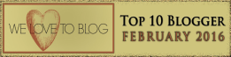 top blogger February