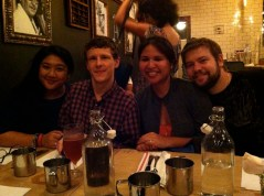 Dee, Mark, Lotus + Graham.
