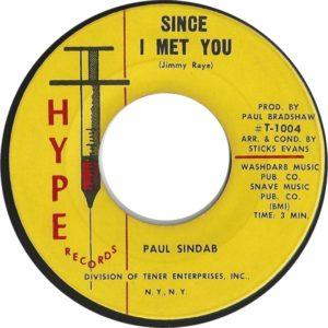 PAUL SINDAB-I'M UPTIGHT