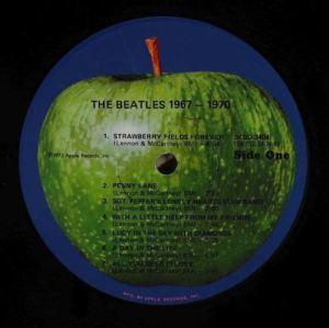Beatles 1967-1970 Apple Original U.S