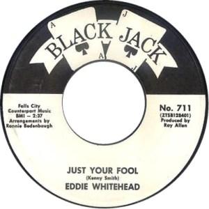 Eddie Whitehead – Just Your Fool