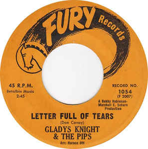GLADYS KNIGHT-LETTER FULL OF TEARS