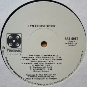 Lyn Christopher Lyn Christopher