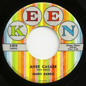 Marti Barris ‎– Ahbe Casabe / Can't You Read Between The Lines