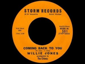 Willie Jones – I Need Love / Coming Back To You