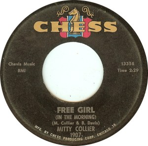 Mighty Collier - I Had A Talk With My Man / Free Girl (In The Morning)